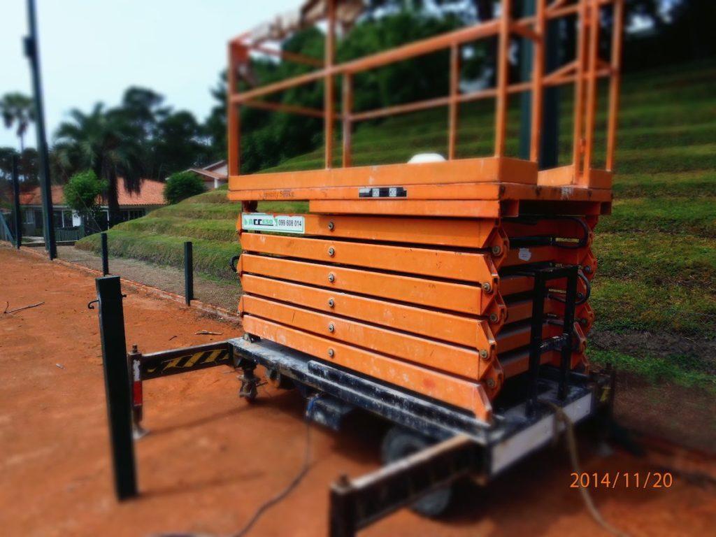 plataformas hidraulica tijera